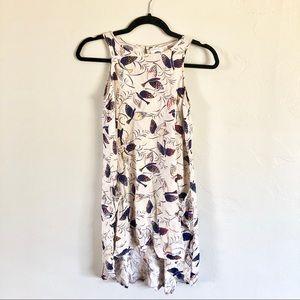 Old Navy Bird Trapeze Sleeveless Dress